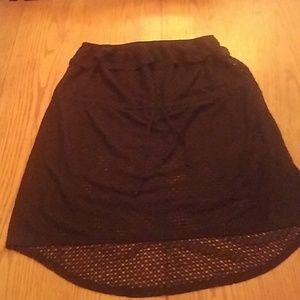 XL Black swimsuit coverup